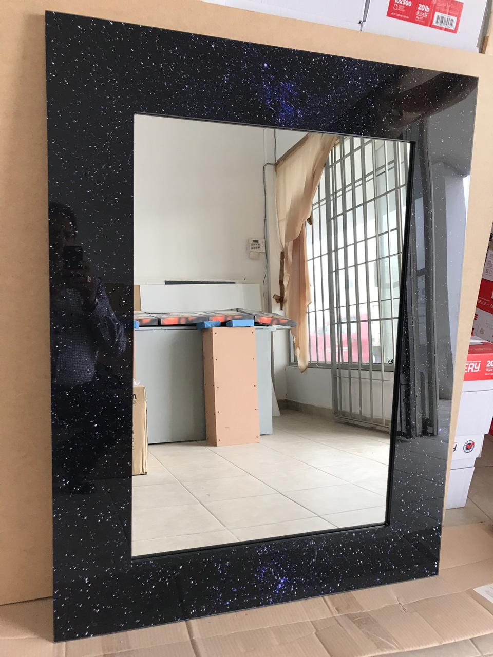 Mirrors with Acrylic Frames