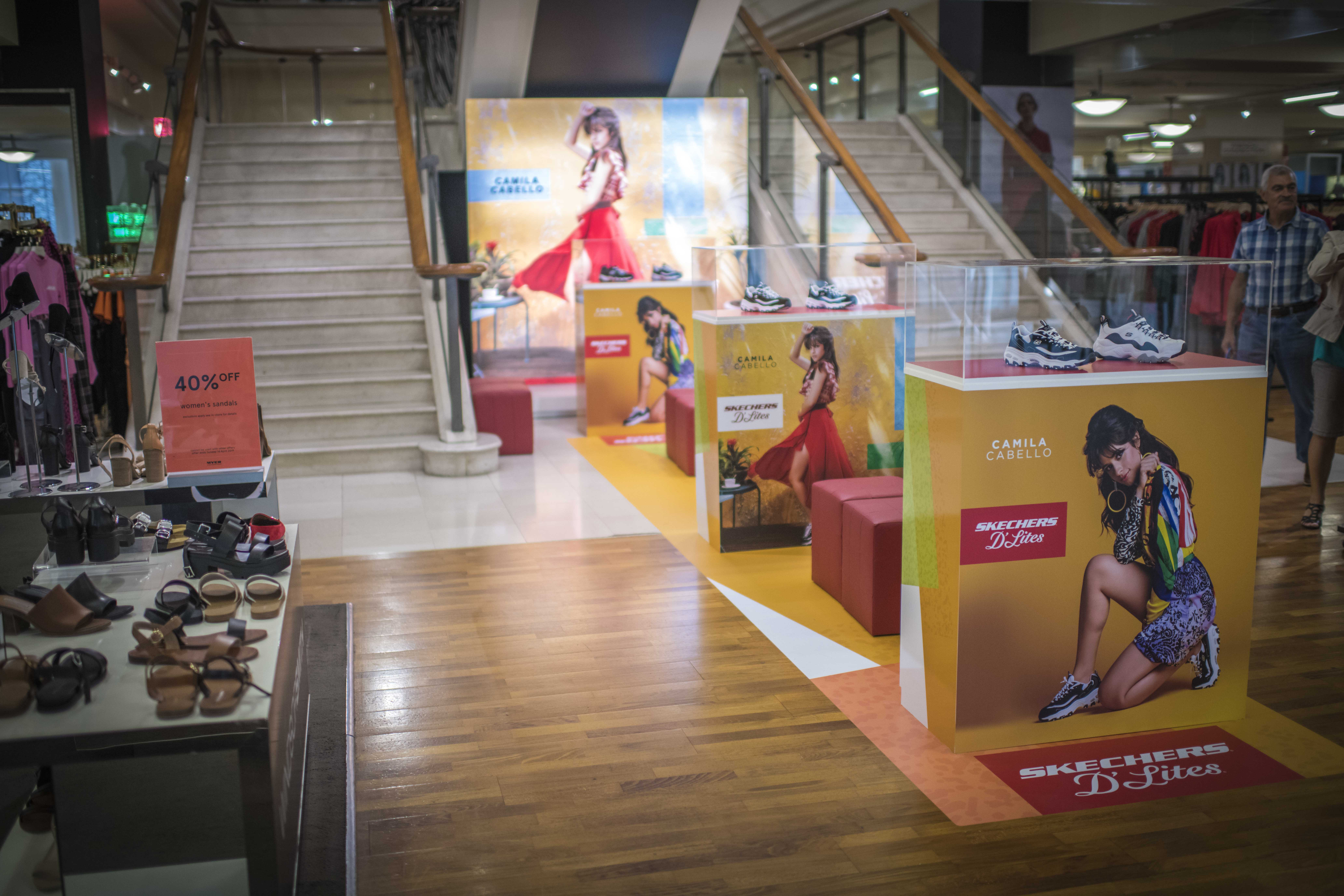 Skechers D'Lites Myer Pop-Up