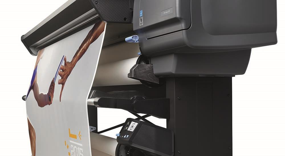 HP Latex 300 500 finishing of posters