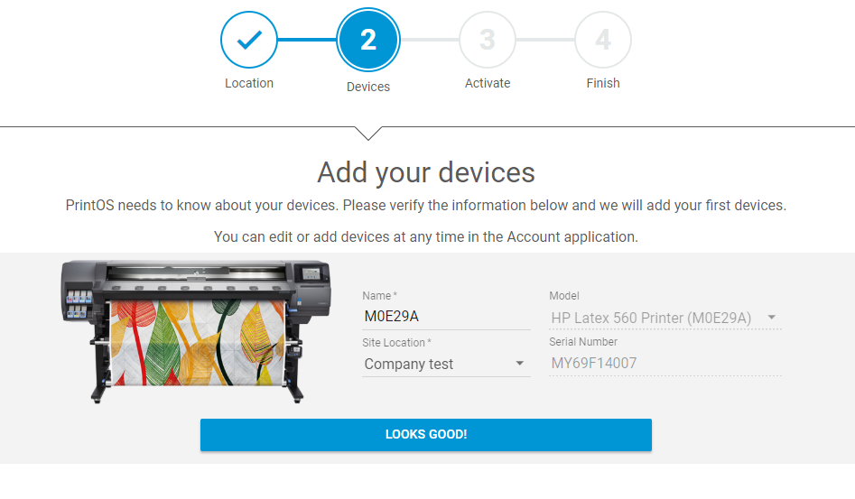 HP Latex Knowledge Center - How to sign up to HP PrintOS in