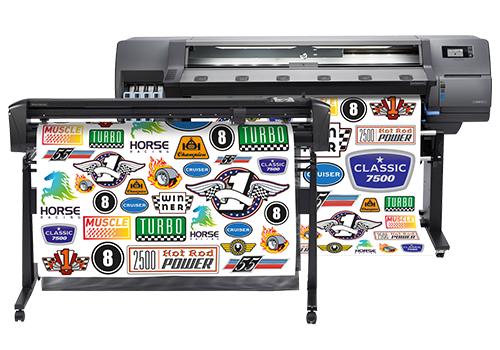 HP LKC - HP Latex 115 Print and Cut Solution