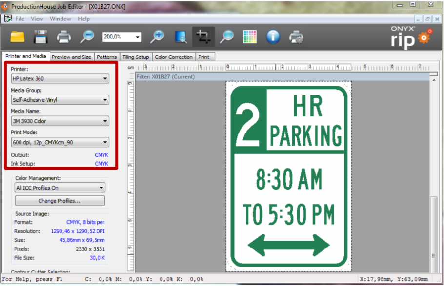 HP LKC - How to print traffic signage on HP Latex 360 and